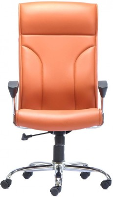 HOF Marco Leatherette Office Chair(Orange)