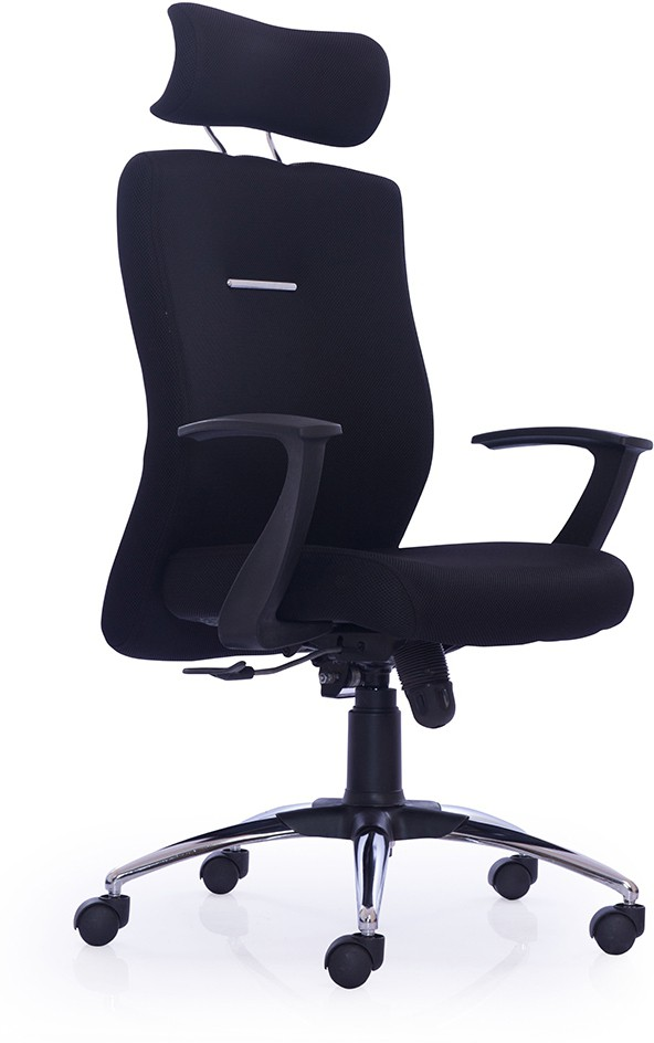 Durian Maestro-Hb-Black Fabric Office Chair class=