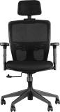 HomeTown ASPIRE Nylon Office Chair (Blac...