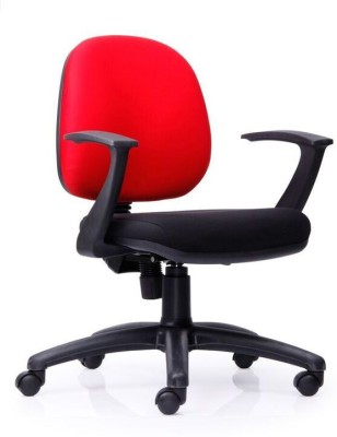 Durian Astro-Lb-Black Fabric Office Chair(Multicolor)