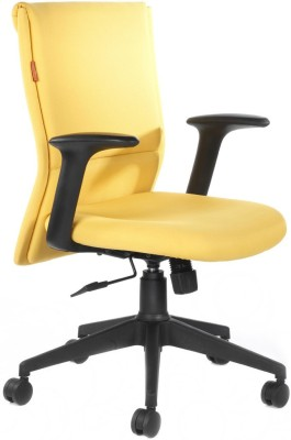 Bluebell Harmony Mid Back Synthetic Fiber Office Chair