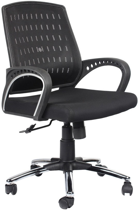 View Divano Engineered Wood Office Chair(Black) Furniture (Divano)