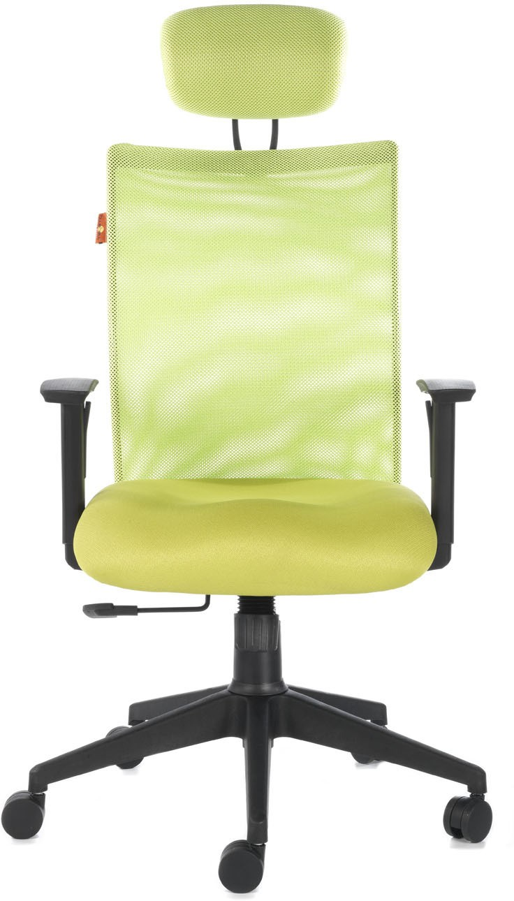 View Bluebell Genesis High Back Fabric Office Chair(Green) Furniture (Bluebell)