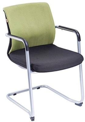 Mavi Fabric Visitor Chair(Green)