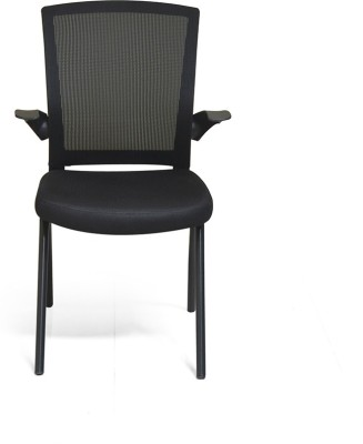 @home by Nilkamal Ola Plastic Office Chair(Black)