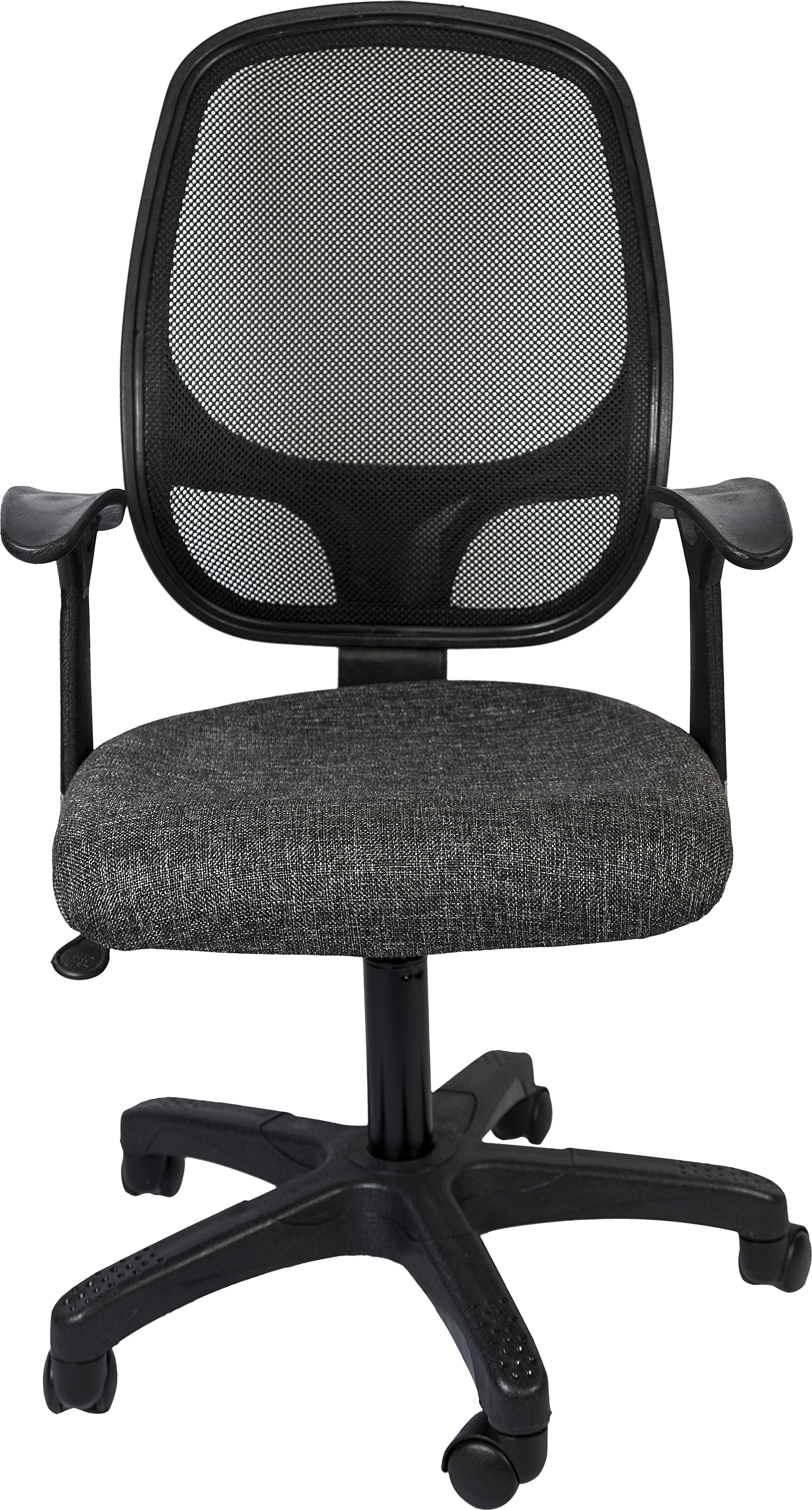 View Hetal Enterprises Synthetic Fiber Office Chair(Black) Furniture (Hetal Enterprises)