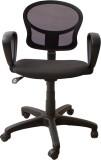 Woodpecker Fabric Office Chair (Black)