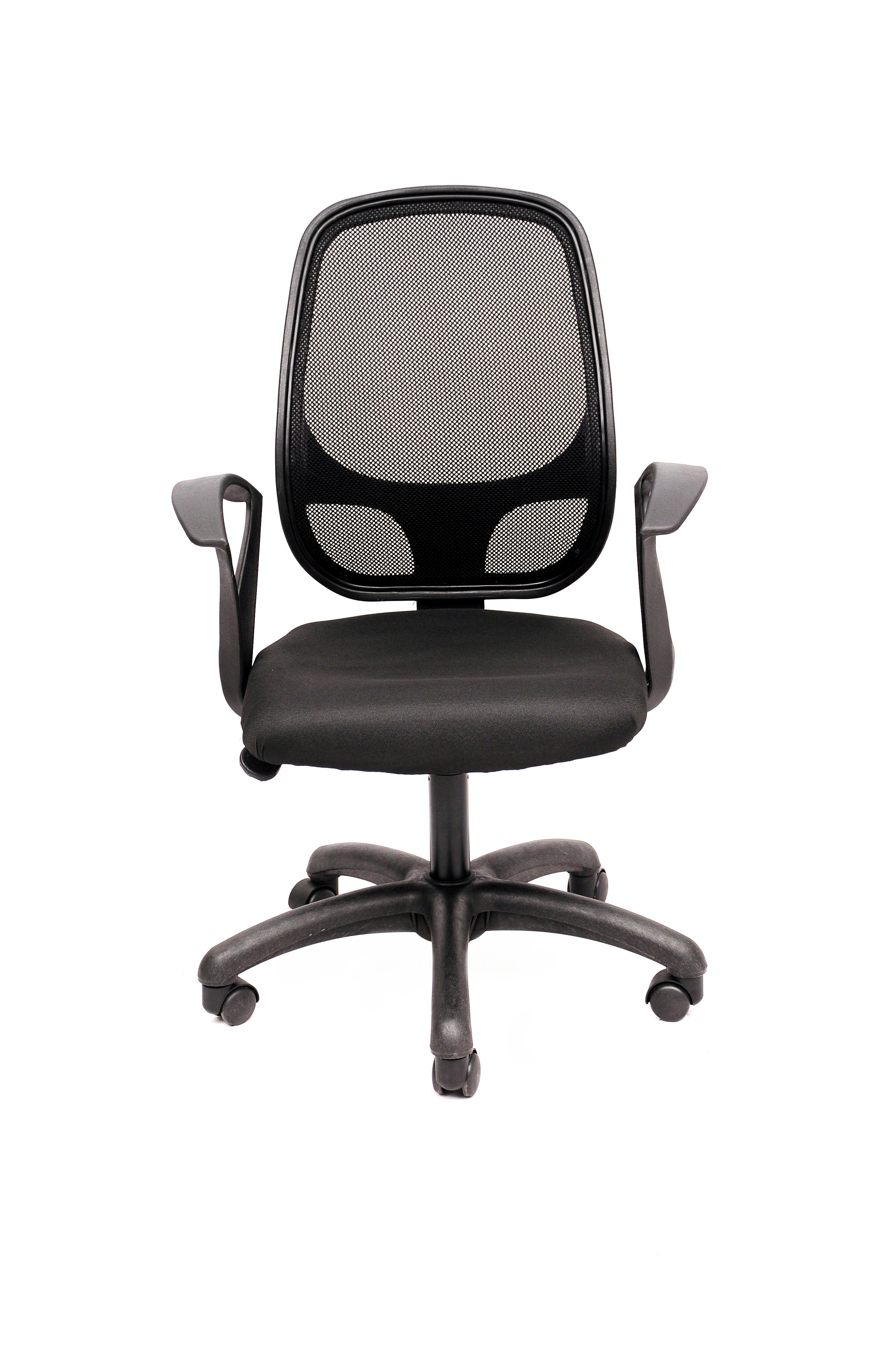 View Magnus NET-802 Fabric Office Chair(Black) Furniture (Magnus)