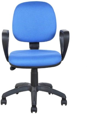 Parin Plastic Office Chair(Blue)