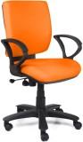 Homecity Foam Office Chair (Orange)