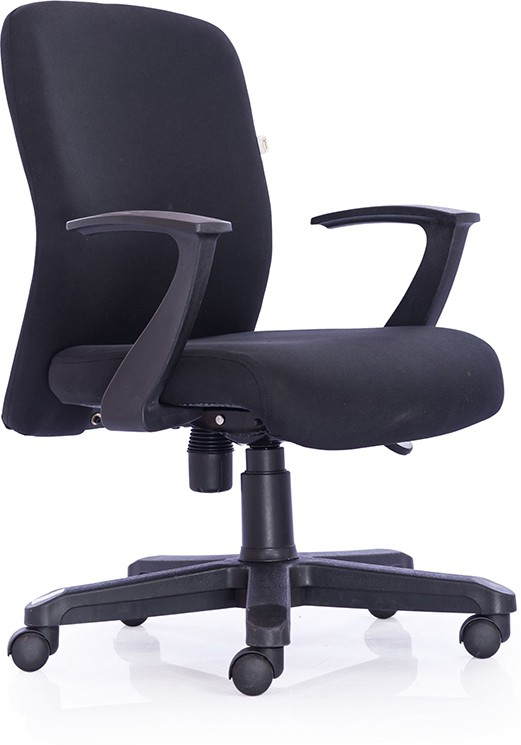 Durian Oxford-Mb-Black Fabric Office Chair