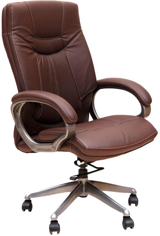 View Divano Engineered Wood Office Chair(Brown) Furniture (Divano)