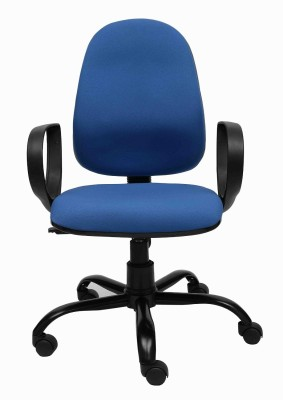 Mavi Fabric Office Chair(Blue)