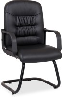 Durian REGAL/5002/CN Leatherette Visitor Chair(Black)
