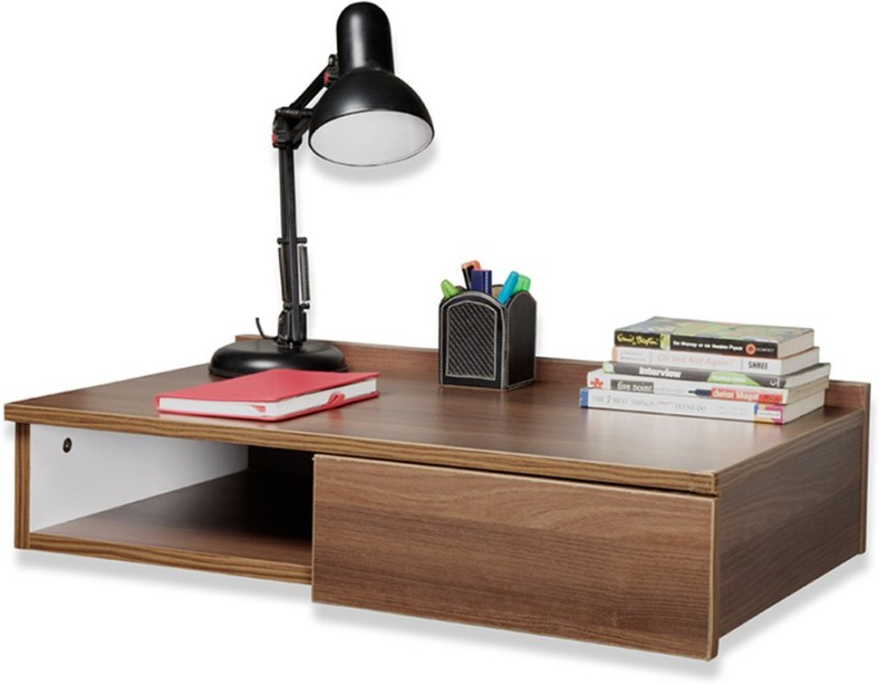 Debono Passion Wall Hung study table Engineered Wood Study Table(Wall Mounted, Finish Color - Acacia Dark Matt Finish)