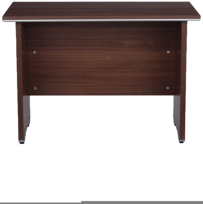 Nilkamal Solid Wood Office Table(Free Standing, Finish Color - Brown)