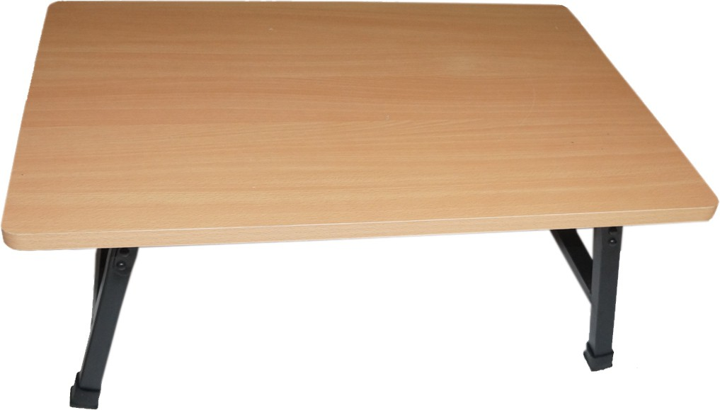 View Muren Engineered Wood Study Table(Free Standing, Finish Color - Cream) Furniture (Muren)