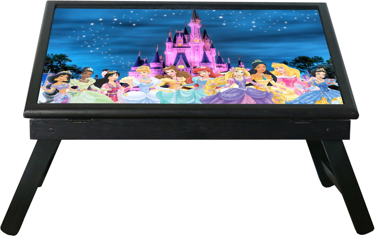 View 10 am Disney Princess table Engineered Wood Study Table(Free Standing, Finish Color - Black) Furniture (10 am)