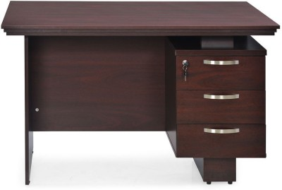Nilkamal Vento Engineered Wood Office Table(Free Standing, Finish Color - NA)