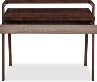Durian DALTON/SD Solid Wood Study Table(Free Standing, Finish Color - Rosewood)