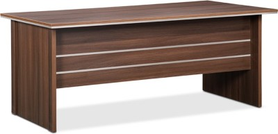 Debono Absolute Engineered Wood Office Table(Free Standing, Finish Color - Acacia Dark)