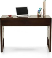 TheArmchair Barcelona Study Table Solid Wood Study Table(Free Standing, Finish Color - Walnut)