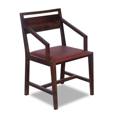 Godrej Interio Solid Wood Study Chair(Brown)