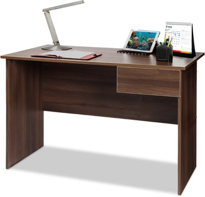 Debono Wisdom Engineered Wood Study Table(Free Standing, Finish Color - Acacia Dark)
