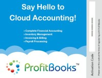 ProfitBooks Accounting Software (SMB Edition)(1 Year, 100 PC)