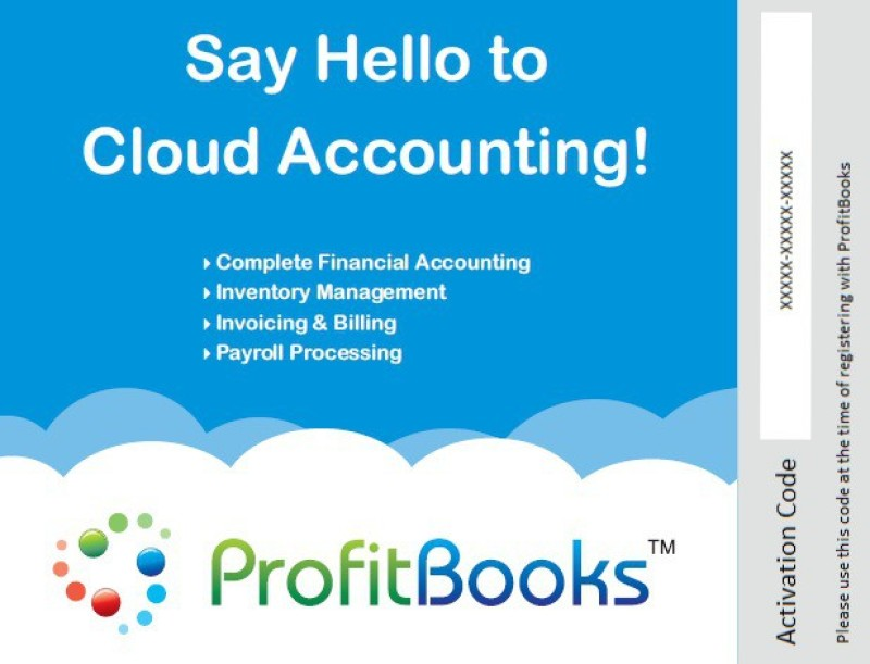 ProfitBooks Accounting Software (Professional Edition)(1 Year, 100 PC)
