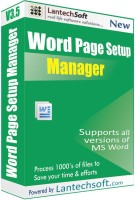 LantechSoft Word Page Setup Ma