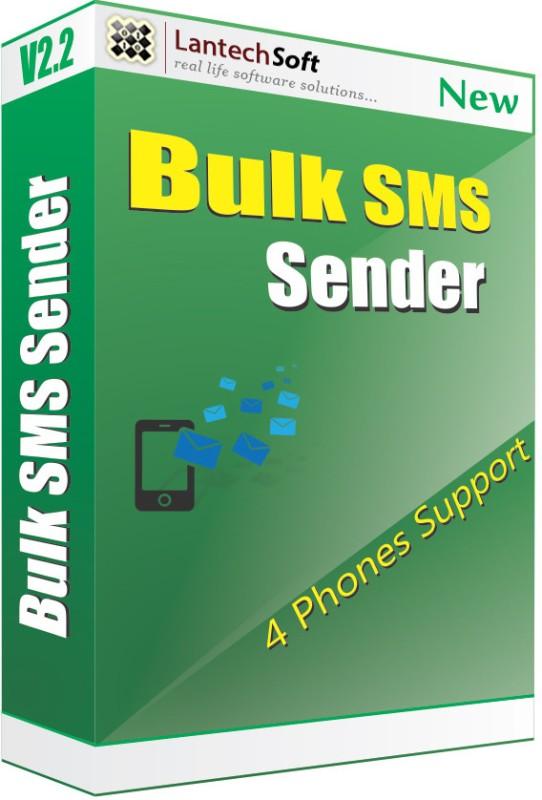 Lantech Soft Bulk Sms Sender (4 Phone Support)(1 Year)