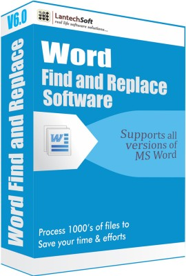LantechSoft Word Find and Replace Software