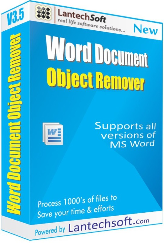 LantechSoft Word Document Object Remover(1)
