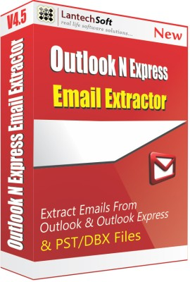 Lantech Soft Email Extractor Outlook N Express