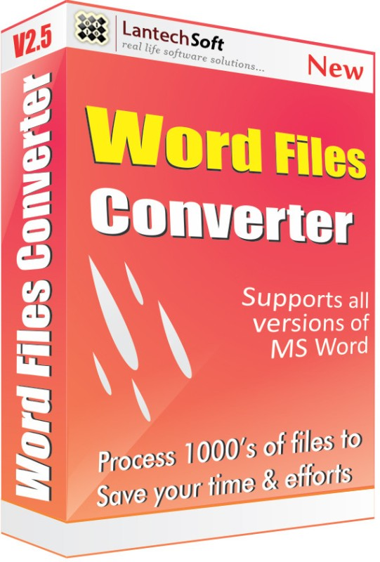 Lantech Soft Total Word Files Converter(1 Year)