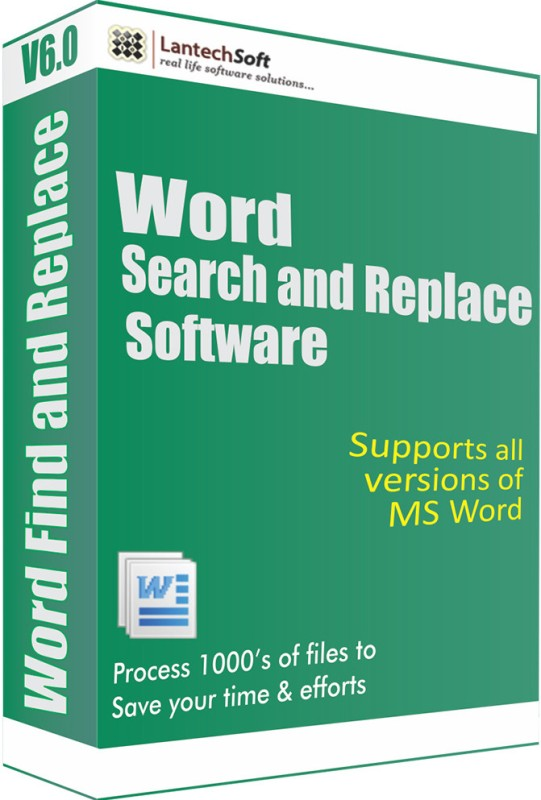 LantechSoft Word Search and Replace Software(1 Year)