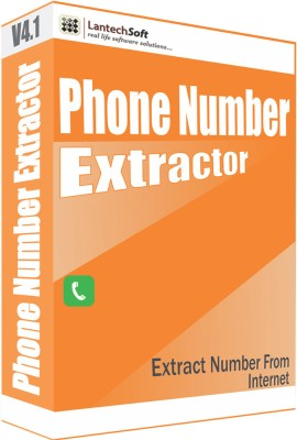 LantechSoft Phone Number Extractor
