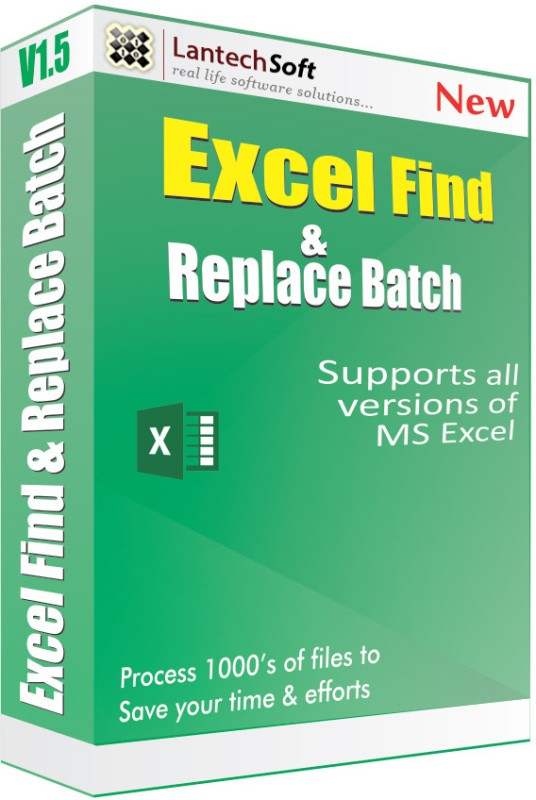 Lantech Soft Excel Find & Replace Batch(1 Year)
