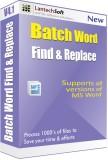 Lantech Soft Batch Word Find & Replace (...