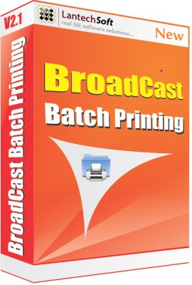 Lantech Soft Broadcast Batch Printing