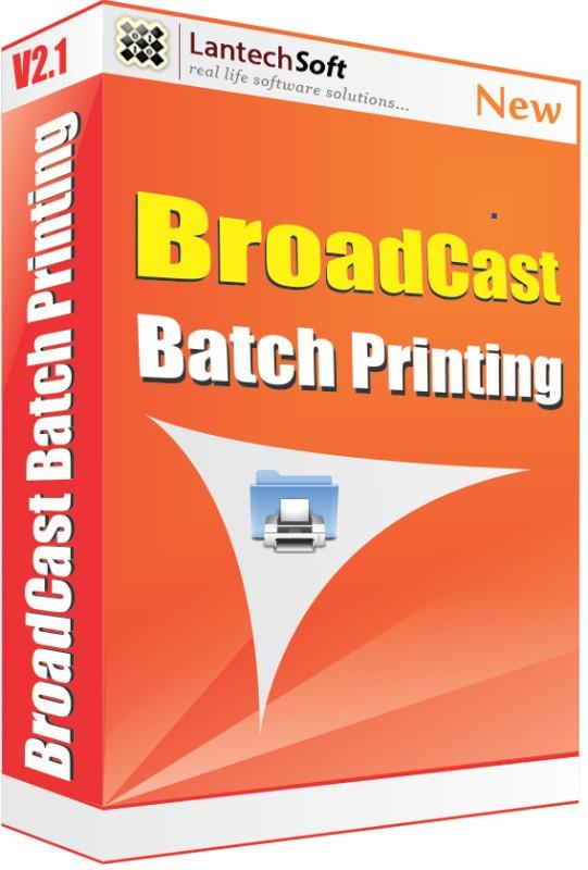 Lantech Soft Broadcast Batch Printing(1 Year)