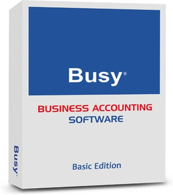 BUSY Basic Edition Version 16.0 Single User Business Accounting Software (CD)