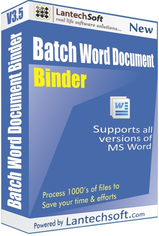 LantechSoft Batch Word Document Binder(1)