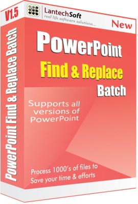 Lantech Soft Powerpoint Find & Replace