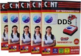 DDS OHP A/4-5 PKT Ohp Sheets (Pack of 10...