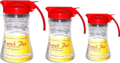 Harsh Pet 1750 ml Cooking Oil Dispenser Set(Pack of 3)