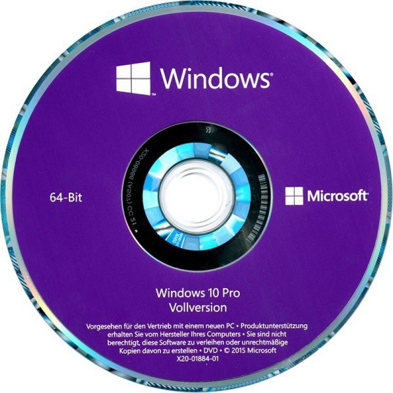 Microsoft Windows 10 Pro 10 Pro 64 Bit