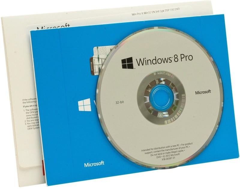 Microsoft Windows 8 / 8.1 Professional OEM 32 bit