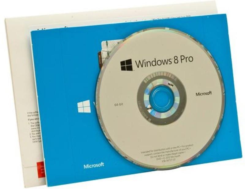 Microsoft Windows 8 / 8.1 Professional OEM 64 bit